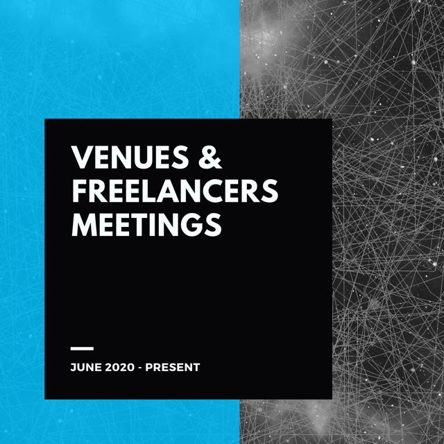 Venues & Freelancers Meetings