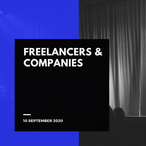 Freelancers & Companies meeting, 10 September 2020
