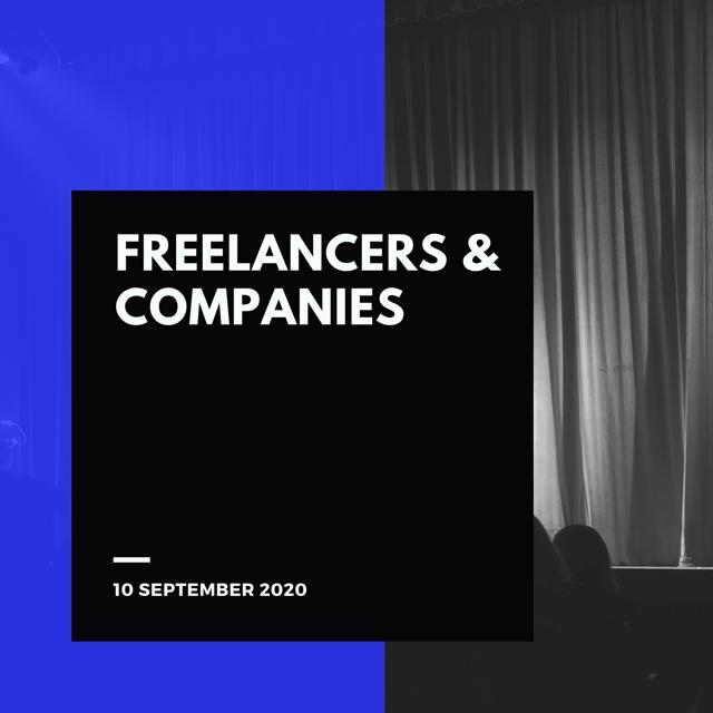 Freelancers & Companies meeting, 10 September 2020